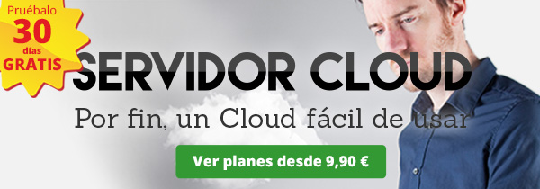 Imagen de Oferta Servidor Cloud de Hostalia