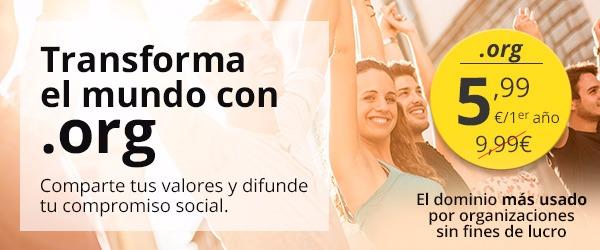 Dominios org hostalia