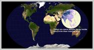 Imagen: Mapas curiosos que te ayudarán a sentir lo que es la Tierra