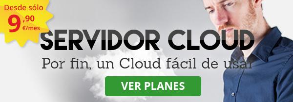 Oferta Servidor Cloud de Hostalia