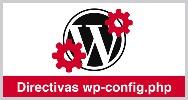 Directivas wp config php wordpress