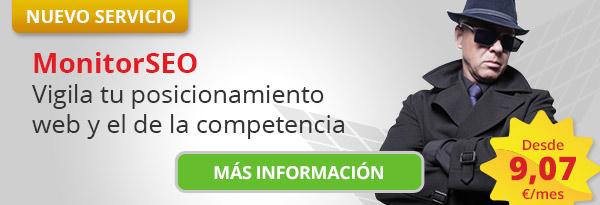 Imagen de onitorSEO Vigila tu posicionamiento web y el de la competencia