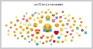50 emojis mas usados