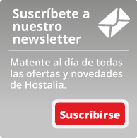 Suscríbete a nuestro newsletter. Mantente al día de todas las ofertas y novedades de Hostalia.