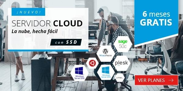 Cloud server hostalia boletin