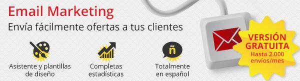 Envía gratis campañas de Email Marketing a tus clientes