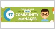 17 cualidades buen community manager
