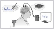 Dispositivo cerebral ia convierten pensamientos en texto