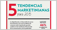 Infografía: 5 tendencias marketinianas para 2015