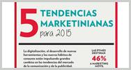 Infografía: 5 tendencias marketinianas para 2015