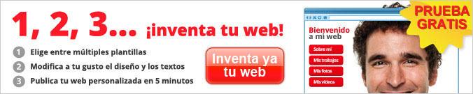 1,2,3... inventa tu web