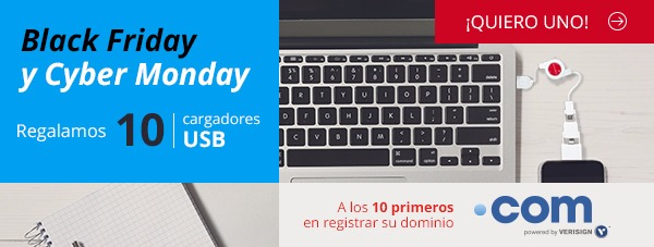 Black friday cyber monday cargadores usb hostalia hosting
