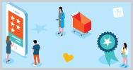 Elementos top consumidores vuelvan a una marca infografia