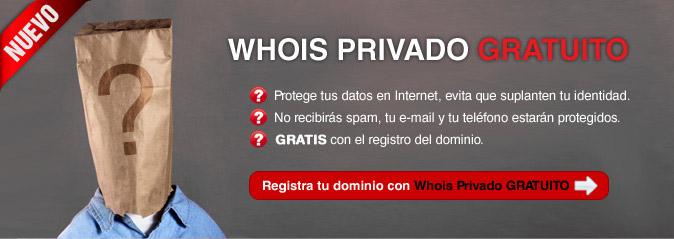 Whois privado gratuito