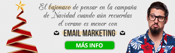 Oferta: Email marketing al 50% de descuento