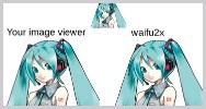 Waifu2x duplica tamano imagen sin perder calidad