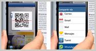 """Comparte vídeos y noticias de tu PC en WhatsApp cómodamente con los """"difuntos"""" códigos QR / BIDI"""