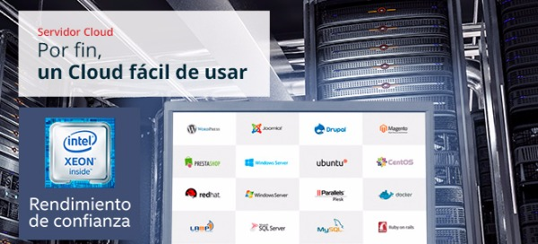Servidor cloud hostalia
