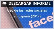 Uso redes sociales espana 2017 informe comunica mas por menos